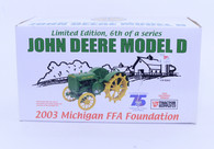 1/16 John Deere Model D Michigan FFA