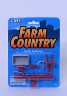1/64 Ertl Farm Country Tractor Accessories (Red)
