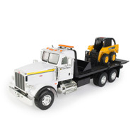 1/16 Big Farm Peterbilt with John Deere Skid Steer