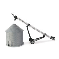 1/16 Big Farm Grain Bin and Auger Set