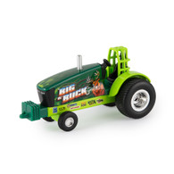 1/64 Buck Hunter Generic Green Pulling Tractor