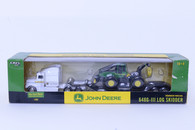 1/64 John Deere 648G-IIILog Skidder and Semi