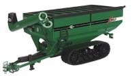 1/64 J&M 1112 Grain Cart on tracks Green