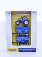 1/64 New Holland T8030 with J&M Gravity Wagons