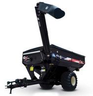 1/64 J&M 1112 Grain Cart - Black - American Decals with Singles