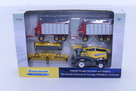 1/64 New Holland FR9090 Forage Harvester  and wagons