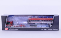 1/64 DCP Kenworth W100 COE With EAST End Dump Chrome Plated Trailer