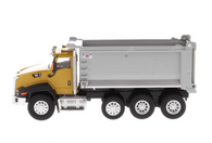 1/64 Cat CT660 Day Cab Tractor with OX Stampede Dump Truck