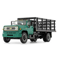 1/64 Green Chevy C65 stake bed truck