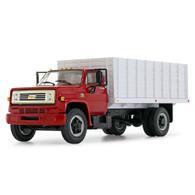 1/64 Red/white Chevy C65 grain truck