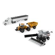 1/64 Agco Gleaner Harvesting Set