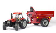 1/16 Big Farm Case International Puma 180 with J&M 875 Auger cart