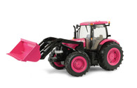 1:16 Big Farm Case IH Puma 195 Pink Tractor with loader