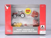 1/64 Massey Ferguson/Hesston Hay Set