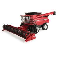 1/16 Big Farm Case International 8240 Combine with 3020 Grain Head