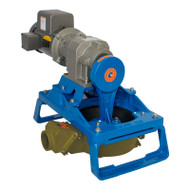 120 Single Diaphragm Electric Pump Skid Mount - Bronze (120ELB-40-200)