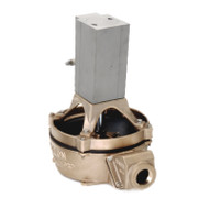 120 Air Powered Diaphragm Pump Base Mount - Bronze (120ACB-200)