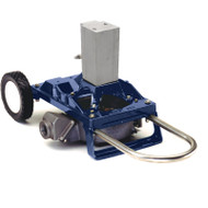 120 Air Powered Diaphragm Pump Cart Mount - Aluminum (120AWA-200)