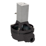 120 Air Powered Diaphragm Pump Base Mount - Aluminum (120ACA-200)