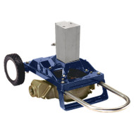 120 Air Powered Diaphragm Pump Cart Mount - Bronze (120AWB-200)
