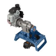 120 Single Diaphragm Gas Pump Skid Mount - Aluminum (120GLA-200)
