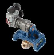 120 Single Diaphragm Gas Pump Skid Mount - Bronze (120GLB-200)