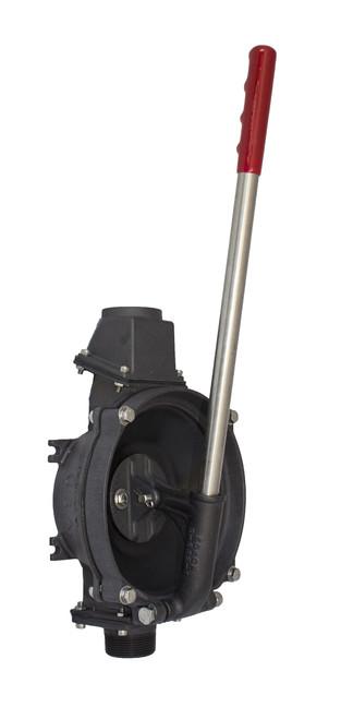 Compact Manual Lever-Action Vertical Mount Pump - Aluminum (256AL-150)