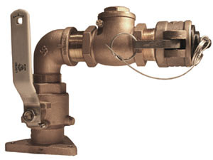 """Hydrant - Pump Out 1.5"""" Bronze"""