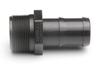 "Plumbing Threaded Coupling - 2"" MNPT x 2"" Hose Barb - Polypropylene (159MA-200NY)"