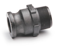 """Quick Clamp Adapter - 2"""" Male QC x 2"""" MNPT - Polypropylene (157MM-200NY)"""