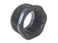 "Threaded Reducing Bushing - 2"" Male to 1.5"" Female SCH 80 PVC (160-A-939-2-1.5)"