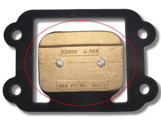 Flapper Valve Bronze Weight 162-A-583 Circled