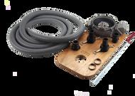"Aluminum Manual Portable Pump Kit 30 GPM (1.5"" Intake/Discharge) (165AL-30-150)"
