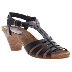 Axxiom Sit Back, High Heel T-Strap Sandal black