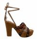Bacio 61 Pandino Sandal, Women's High Heel Platform Wrap Ankle Sandal