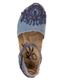 Top View: Women's Shoes, OTBT Kalamazoo- Women's Flat Mary Jane Clog- Slate Blue Denim
