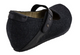 OTBT Salem Mary Jane Wedge- black fabric