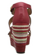 Nicole shoes- Danica- Women's Wedge Sandal, Striped Wedge Heel- Red