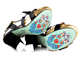 Women's Shoes, Irregular Choice Ariel's Treasure, Platform High Heel Sandals, Patent Leather and polka dot bow, Black