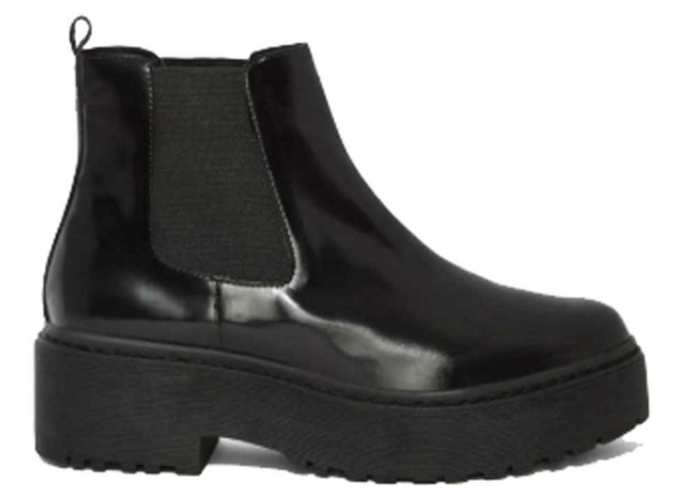 83c8b0ef1ce04 Jeffrey Campbell- Universal- Women's Platform Chelsea Boot- Black-Size 10