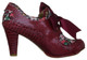 Women's Shoes, Irregular Choice Snappy Clappy, Women's Bootie, mix pattern floral and oversized bow