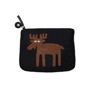 Moose Felt Coin Purse (590424)