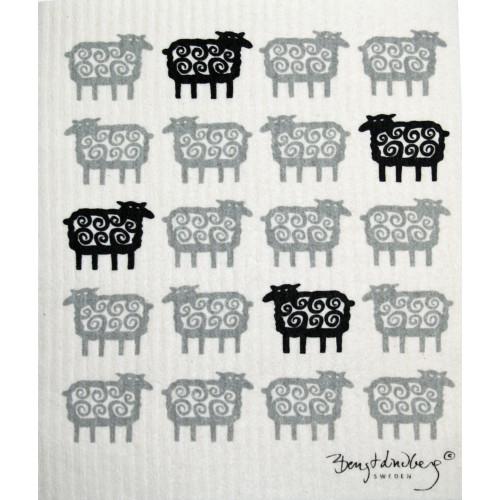Swedish Dishcloth - Sheep (600320)