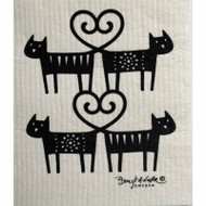 Dishcloth - Cat Lovers (600362)