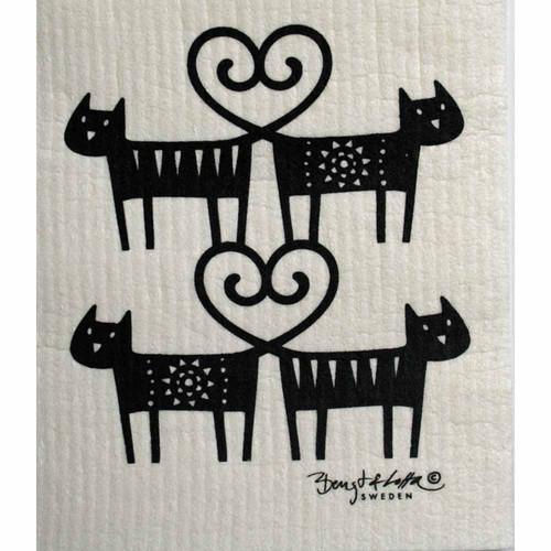 Dishcloth - Cat Lovers (600362)