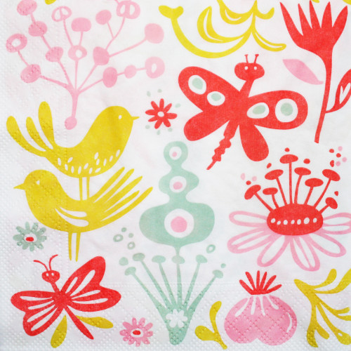 Butterfly Luncheon Napkins (610037)
