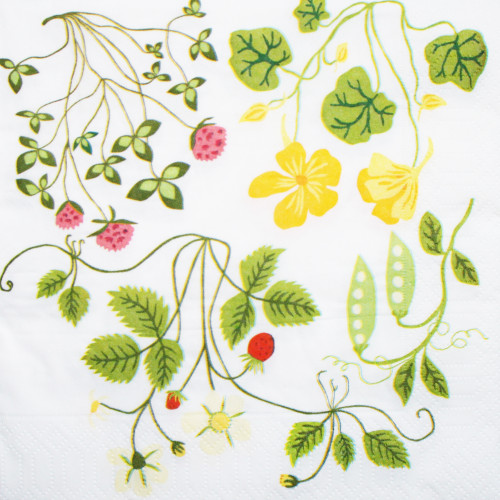 Leksand Luncheon Napkins - Natural (610050)