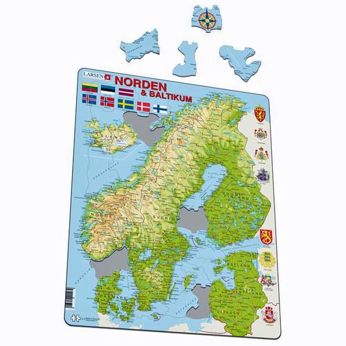 Norden and Baltikum Puzzle (K3)
