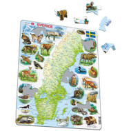Sverige Puzzle (K6)