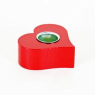 Candleholder - Red Heart (40565)